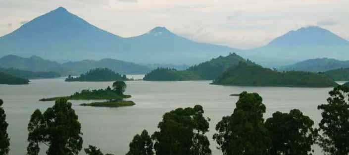 3 Days Gorillas Nkuringo, with Lake Mutanda and Virunga Views