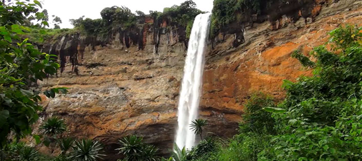 The Sipi falls in Uganda