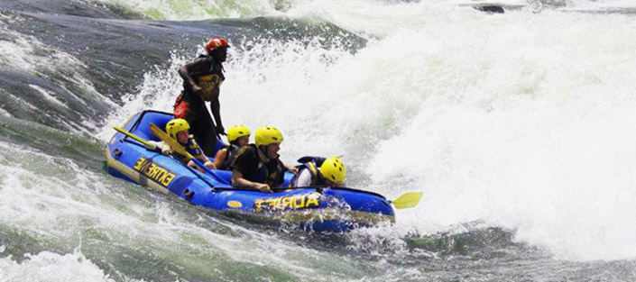 White Water Rafting on the Nile River - Jinja