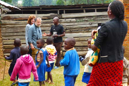 community outreach projects - child funding in Uganda